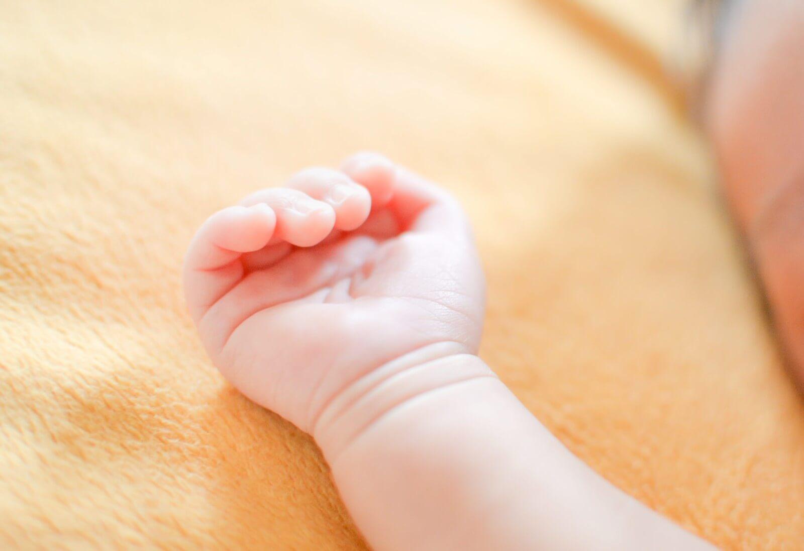 赤ちゃんの手相
